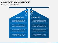 Advantages Disadvantages PPT Slide 1