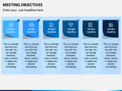 Meeting Objectives PPT Slide 1