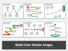 Timeline With Target Multicolor Combined