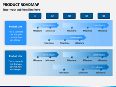 Product Roadmap PPT Slide 1