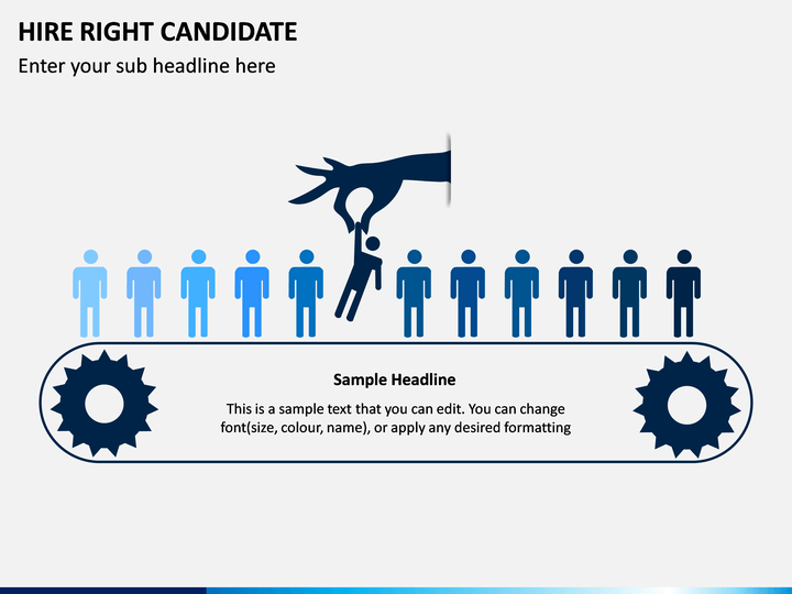 Hire Right Candidate PPT Slide 1