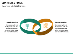 Connected Rings PPT Slide 4