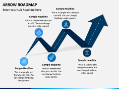 Arrow Roadmap PPT Slide 2