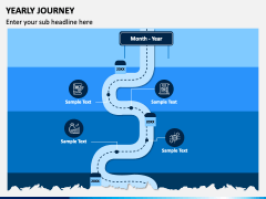 Yearly Journey PPT Slide 2