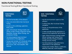 Non Functional Testing PPT Slide 7