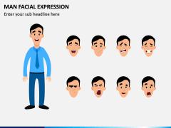Man Facial Expression PPT Slide 1