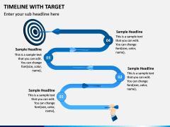 Timeline With Target PPT Slide 4