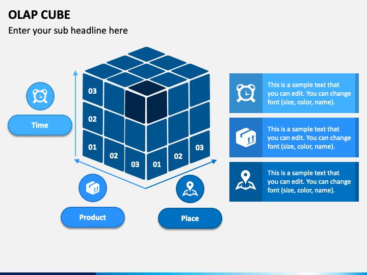 OLAP Cube PPT Slide 1