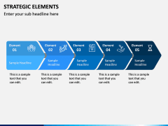 Strategic Elements PPT Slide 9