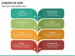 8 Wastes of Lean PPT Slide 5