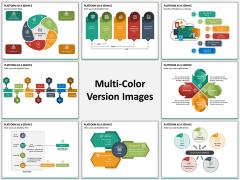 Platform as a Service (PaaS) Multicolor Combined