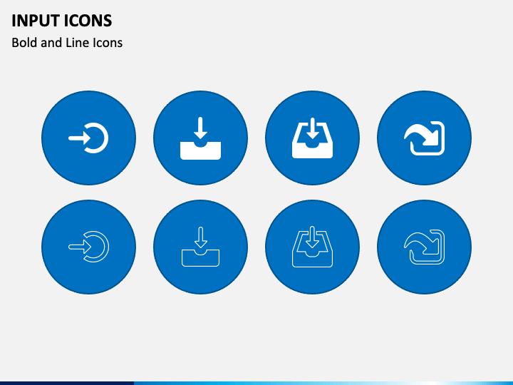 Input Icons PPT Slide 1