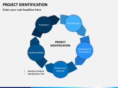 Project Identification PPT Slide 1
