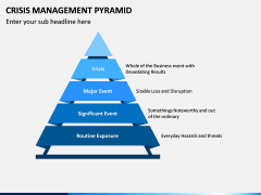 Crisis Management Pyramid PPT Slide 1