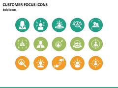 Customer Focus Icons PPT Slide 3