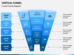 Vertical Funnel PPT Slide 5