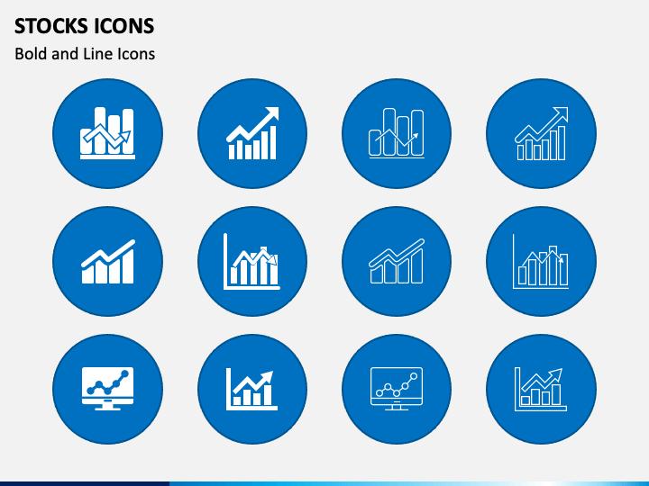 Stocks Icons PPT Slide 1