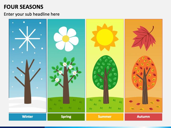 Four Seasons PPT Slide