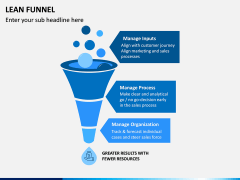 Lean Funnel PPT Slide 3
