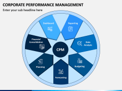 Corporate Performance Management PPT Slide 1
