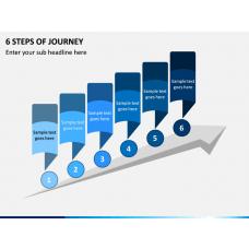 6 Steps of Journey PPT Slide 1
