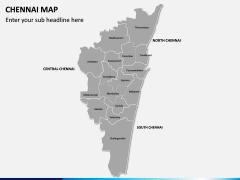 Chennai Map PPT Slide 2