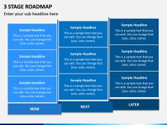 3 Stage Roadmap PPT Slide 2