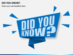 Did You Know PPT Slide 5