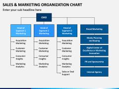 Sales and Marketing Organization Chart PPT Slide 5