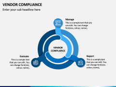 Vendor Compliance PPT Slide 1