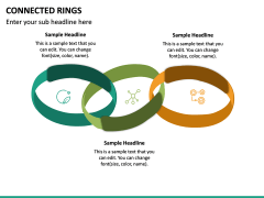 Connected Rings PPT Slide 5