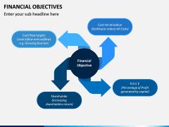Financial Objectives PPT Slide 1