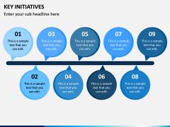 Key Initiatives PPT Slide 4