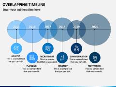 Overlapping Timeline PPT Slide 5