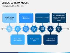 Dedicated Team Model PPT Slide 8