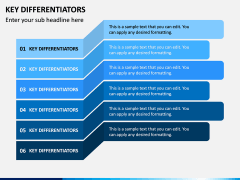 Key Differentiators PPT Slide 4