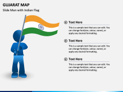 Gujarat Map PPT Slide 6