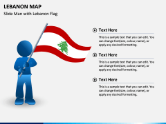 Lebanon Map PPT Slide 4