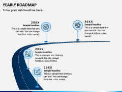 Yearly Roadmap PPT Slide 2