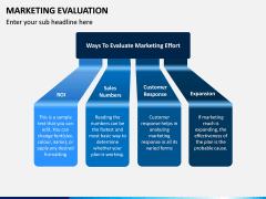 Marketing Evaluation PPT Slide 3