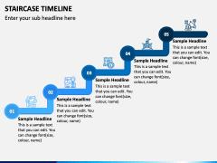 Stairs Timeline PPT Slide 2