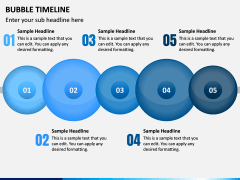 Bubble Timeline PPT Slide 3