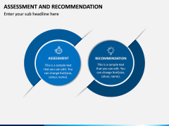 Assessment and Recommendation PPT Slide 2