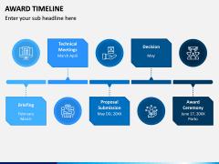 Award Timeline PPT Slide 2