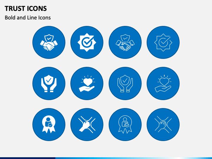 Trust Icons PPT Slide 1
