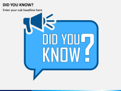 Did You Know PPT Slide 1