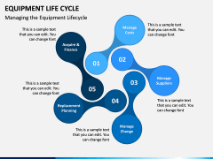 Equipment Life Cycle PPT Slide 5