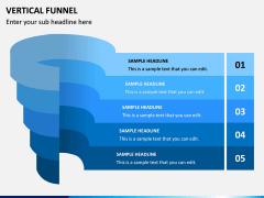Vertical Funnel PPT Slide 3