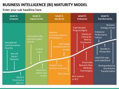 BI Maturity Model PPT Slide 3