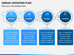 Annual Operating Plan PPT Slide 3